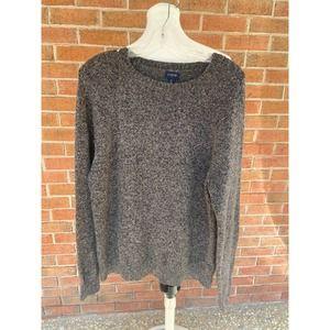 J. Crew Lambs Wool Gray Boyfriend Sweater Men Med